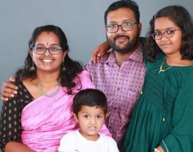 Prasanth and Family! :-)