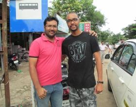 Prasanth & Stephan in Kerala - 2011