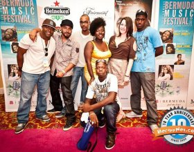 Bermuda Music Festival Chewstick Crew!
