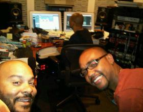 Recording with Steve Easton