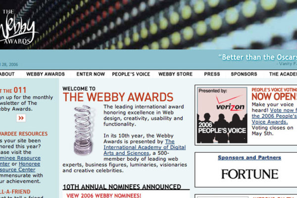 Bermudian Up for Prestigious Webby Award