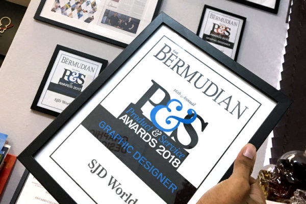 Best Local Graphic Designer – Product & Service Award 2018