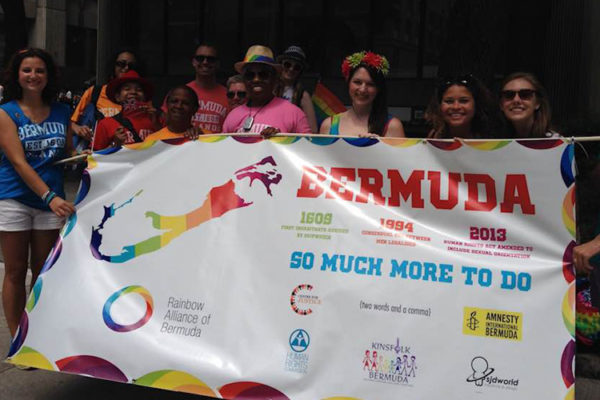Bermuda represented at World Pride Day Toronto