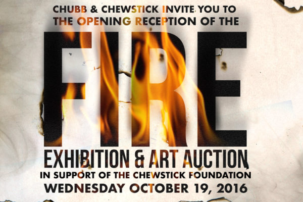 Chewstick Fire Auction/Exhibition Postponed