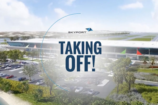 Taking Off' Highlights New Airport Logo