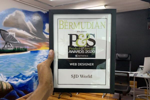 Best Local Web Designer – Product & Service Award 2020